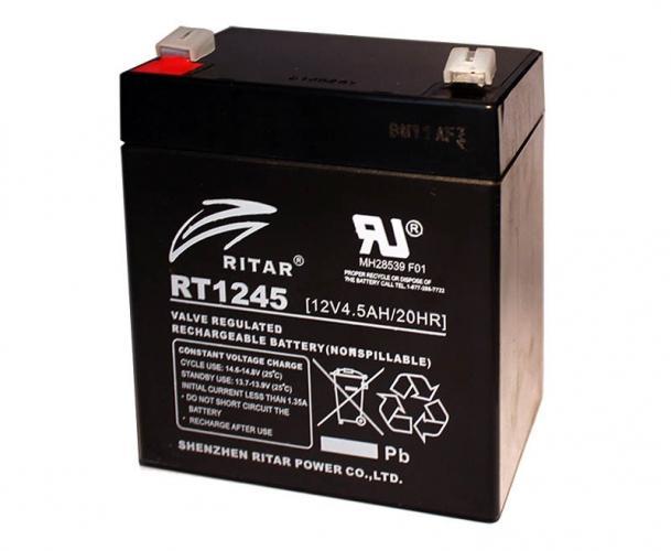 Фото Аккумуляторы для ИБП (UPS) Ritar AGM RITAR RT1245B 12V 4.5Ah