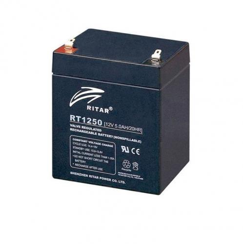 Фото Аккумуляторы для ИБП (UPS) Ritar AGM RITAR RT1250B 12V 5Ah