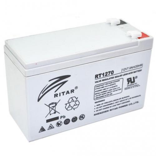 Фото Аккумуляторы для ИБП (UPS) Ritar AGM RITAR RT1270A 12V 7Ah