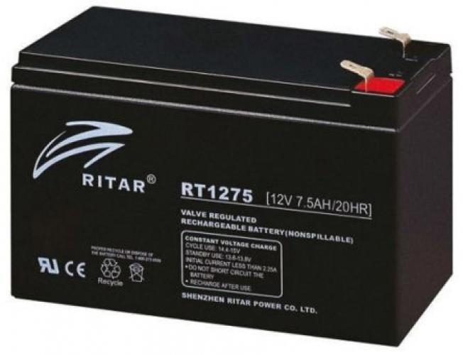 Фото Аккумуляторы для ИБП (UPS) Ritar AGM RITAR RT1275B 12V 7.5Ah