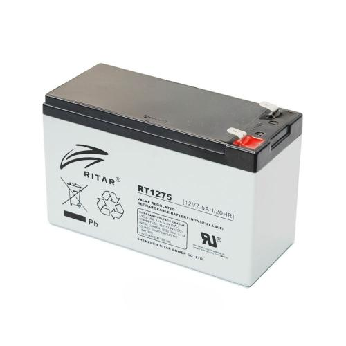 Фото Аккумуляторы для ИБП (UPS) Ritar AGM RITAR RT1275 12V 7.5Ah