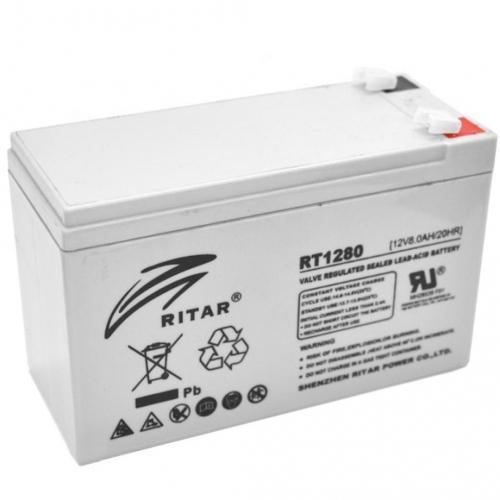 Фото Аккумуляторы для ИБП (UPS) Ritar AGM RITAR RT1280 12V 8Ah
