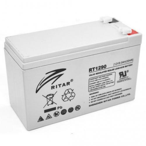 Фото Аккумуляторы для ИБП (UPS) Ritar AGM RITAR RT1290 12V 9Ah