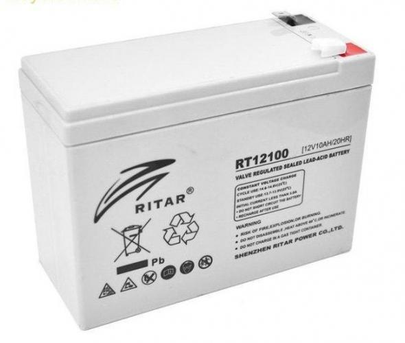 Фото Аккумуляторы для ИБП (UPS) Ritar AGM RITAR RT12100 12V 10Ah