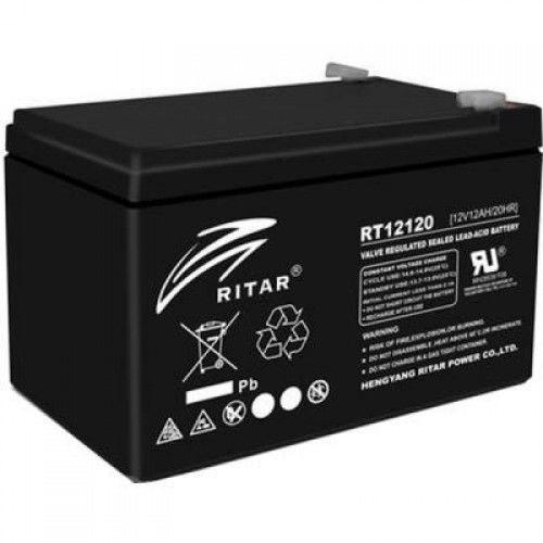 Фото Аккумуляторы для ИБП (UPS) Ritar AGM RITAR RT12120B 12V 12Ah