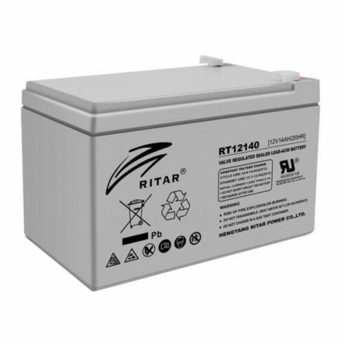 Фото Аккумуляторы для ИБП (UPS) Ritar AGM RITAR RT12140H 12V 14Ah