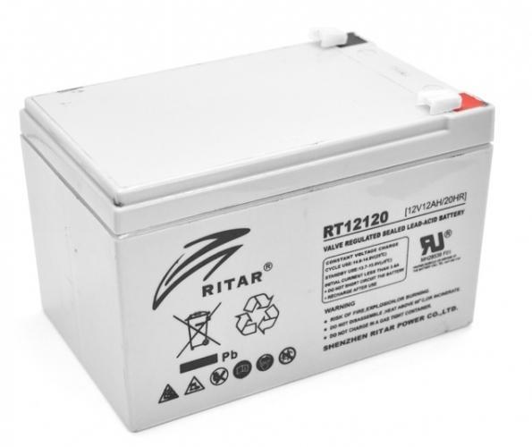 Фото Аккумуляторы для ИБП (UPS) Ritar AGM RITAR RT12120 12V 12Ah
