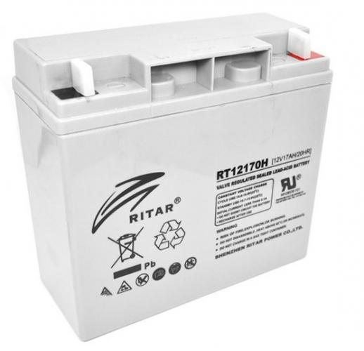 Фото Аккумуляторы для ИБП (UPS) Ritar AGM RITAR RT12170H 12V 17Ah