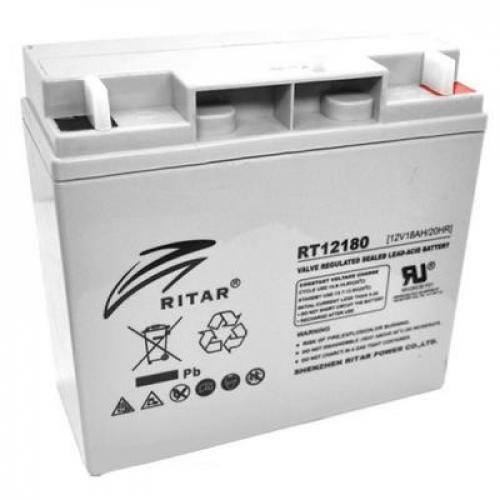 Фото Аккумуляторы для ИБП (UPS) Ritar AGM RITAR RT12180 12V 18Ah