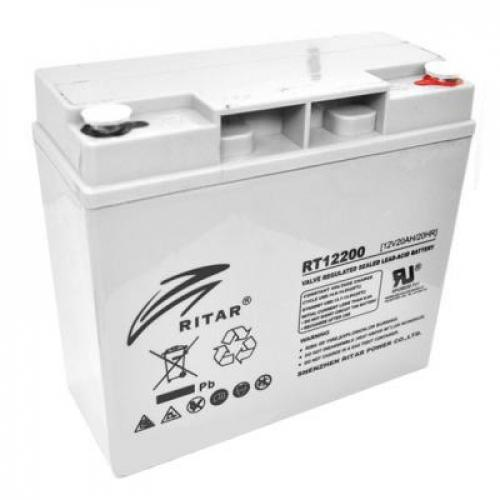 Фото Аккумуляторы для ИБП (UPS) Ritar AGM RITAR RT12200 12V 20Ah