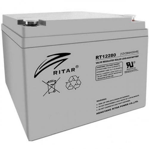 Фото Аккумуляторы для ИБП (UPS) Ritar AGM RITAR RT12280 12V 28Ah