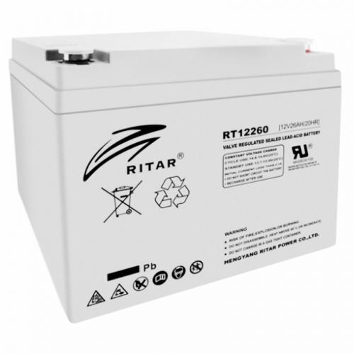 Фото Аккумуляторы для ИБП (UPS) Ritar AGM RITAR RT12260 12V 26Ah