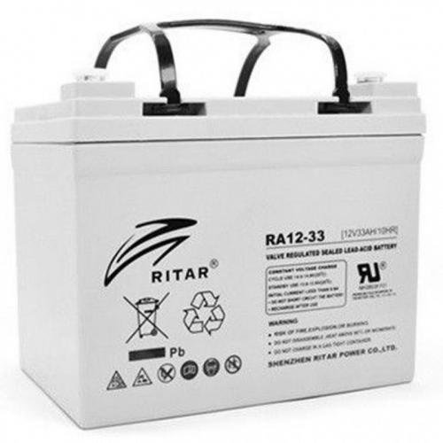 Фото Аккумуляторы для ИБП (UPS) Ritar AGM RITAR RA12-33 12V 33Ah