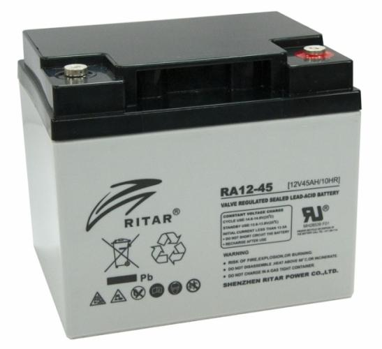Фото Аккумуляторы для ИБП (UPS) Ritar AGM RITAR RA12-45 12V 45Ah