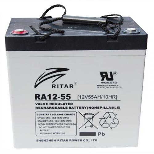 Фото Аккумуляторы для ИБП (UPS) AGM RITAR RA12-55 12V 55Ah