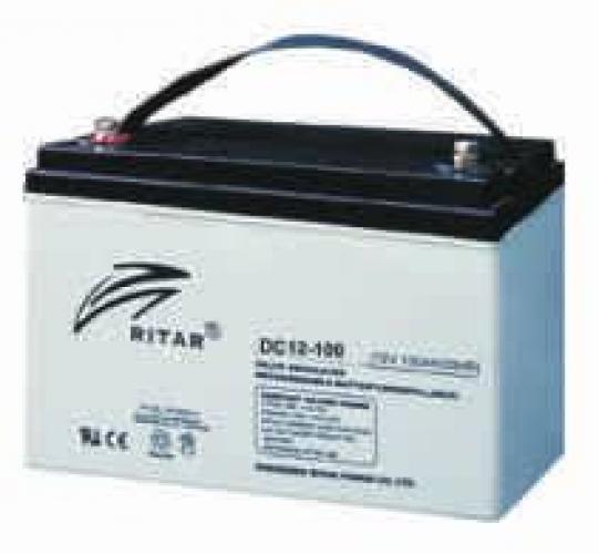 Фото Аккумуляторы для ИБП (UPS) Ritar AGM RITAR DC12-100 12V 100Ah