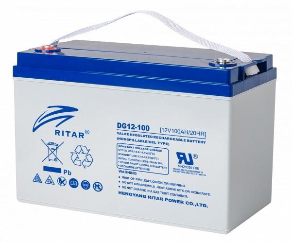 Фото Аккумуляторы для ИБП (UPS) Ritar CARBON RITAR DC12-100C 12V 100Ah