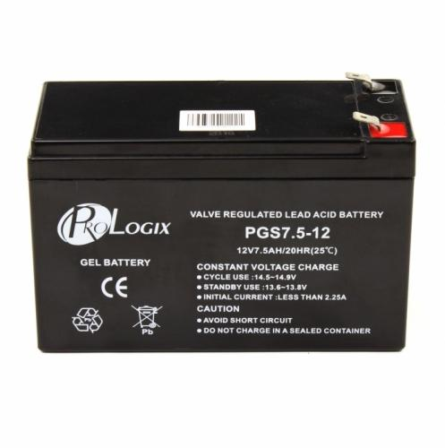 Фото Аккумуляторы для ИБП (UPS) ProLogix  PGS7.5-12 GEL