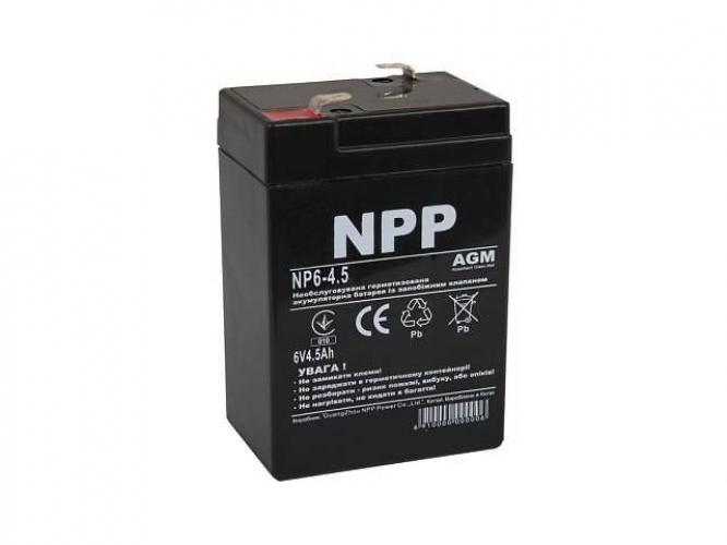 Фото Аккумуляторы для ИБП (UPS) NPP NP6-4.5