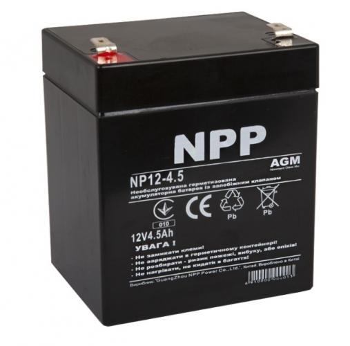 Фото Аккумуляторы для ИБП (UPS) NPP NP12-4.5