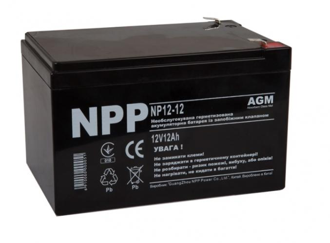 Фото Аккумуляторы для ИБП (UPS) NPP NP12-12