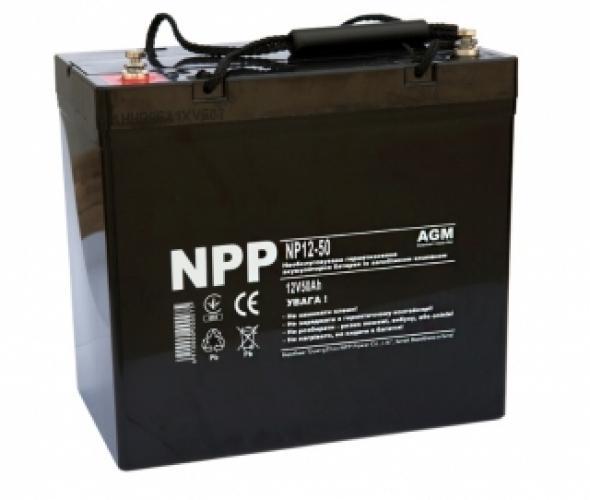 Фото Аккумуляторы для ИБП (UPS) NPP NP12-50