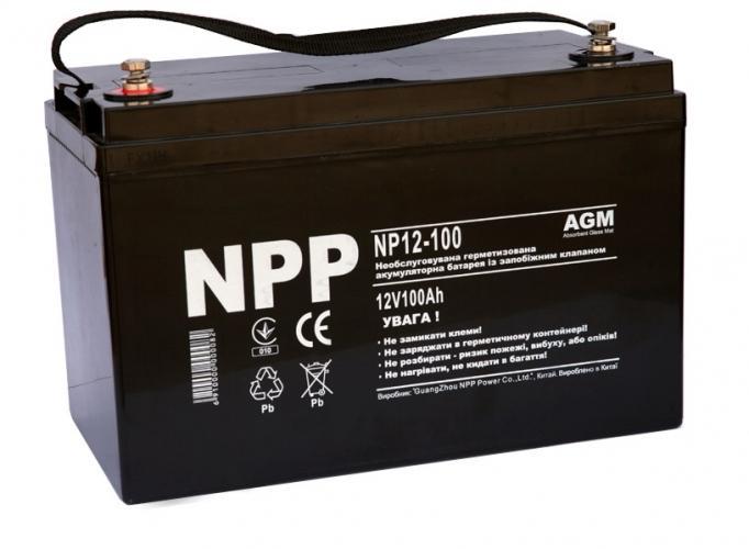 Фото Аккумуляторы для ИБП (UPS) NPP NP12-100