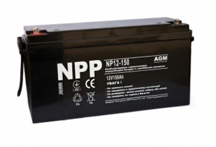 Фото Аккумуляторы для ИБП (UPS) NPP NP12-150
