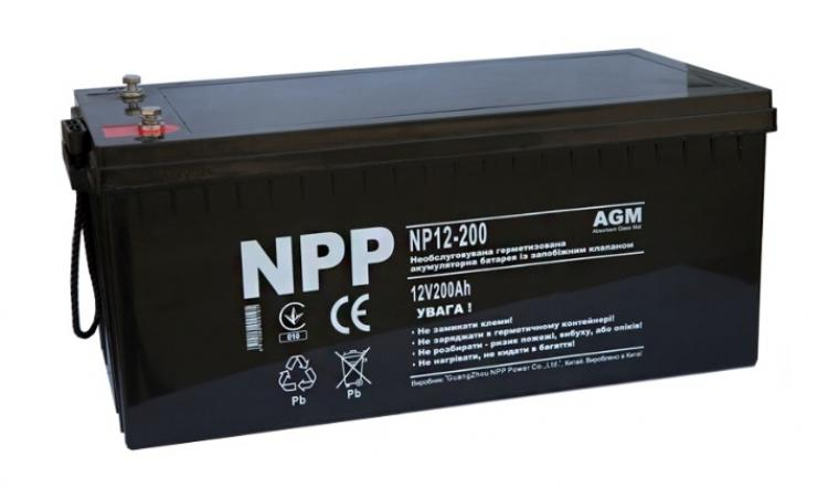 Фото Аккумуляторы для ИБП (UPS) NPP NP12-200