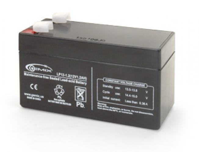 Фото Аккумуляторы для ИБП (UPS) Gemix LP12-1.2