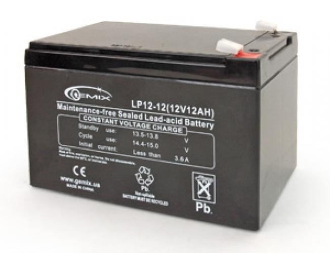Фото Аккумуляторы для ИБП (UPS) Gemix LP12-12