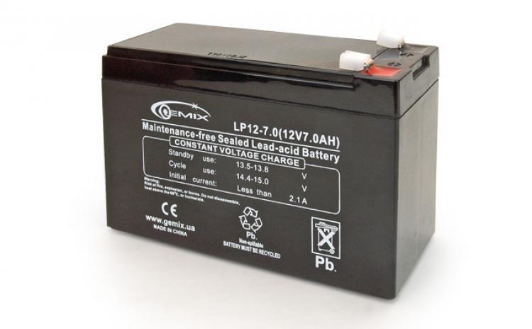 Фото Аккумуляторы для ИБП (UPS) Gemix LP12-7.0