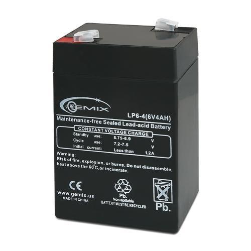 Фото Аккумуляторы для ИБП (UPS) Gemix LP6-4.0