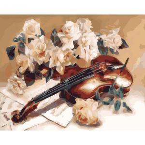 Фото Картины на холсте по номерам, Букеты, Цветы, Натюрморты KH 5500