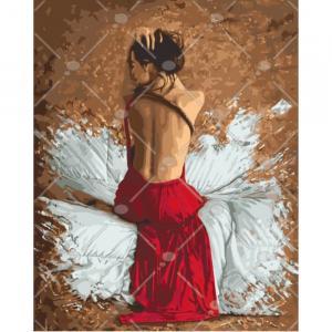 Фото Картины на холсте по номерам, Романтические картины. Люди KH 4546
