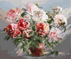 Фото Картины на холсте по номерам, Букеты, Цветы, Натюрморты KGX 23507