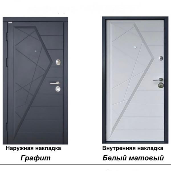 Фото ДВЕРИ В КВАРТИРУ СЕРИИ