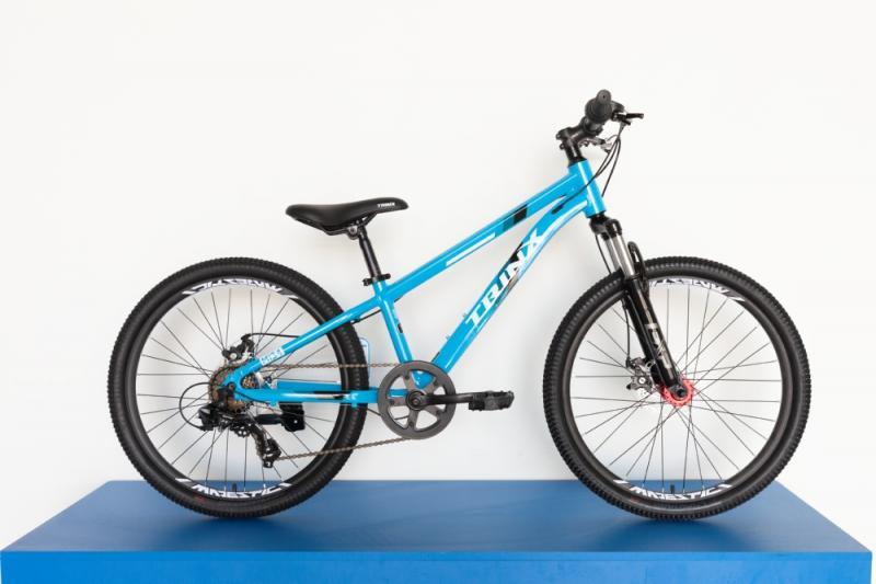 Фото ВЕЛОСИПЕДИ, TRINX Велосипед Trinx-2021 M134 24 Blue-White-Black-Blue