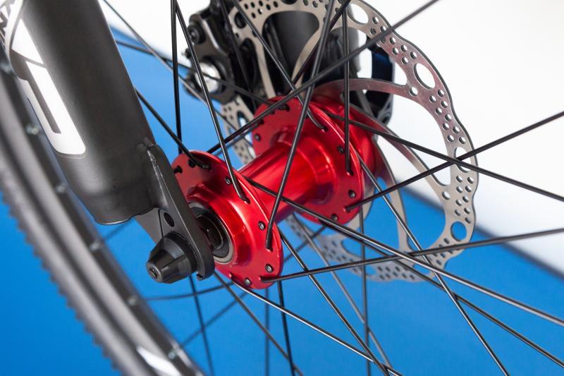 Фото ВЕЛОСИПЕДИ, TRINX Велосипед Trinx-2021 M134 24 Matt-Black-Grey-Red