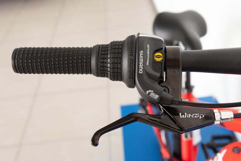 Фото ВЕЛОСИПЕДИ, TRINX Велосипед Trinx-2021 M134 24 Matt-Red-White-Red