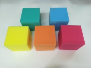 Фото Поролон, синтепон, синтепух (холлофайбер), Поролоновые валики, кубики. Кубики поролоновые   150х150х150мм