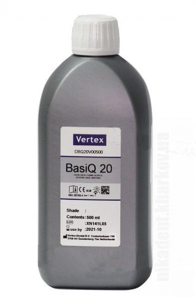 Фото Для зуботехнических лабораторий, МАТЕРИАЛЫ, Пластмассы и мономеры Vertex BasiQ 20 Monomer 1000ml