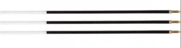 """Стержень шариковый OfficeSpace для ручек """"Corvina"""", 152мм, 1мм, синий, черный, красный"""