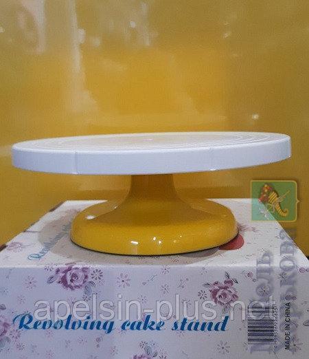 Столик поворотный кондитерский пластиковый 26,5 см высота 10 см - Матрасы и наматрасники в Харькове