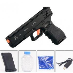 Фото Игрушечное Оружие, Стреляет гелевыми (водяными) пульками SB 422   (Glock 18)  Глок