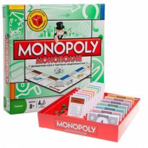 Фото Развивающие игрушки, Развивающие  игры для детей и взрослых 6123 Настольная игра монополия