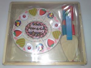 Фото  C 601 Деревянный тортик