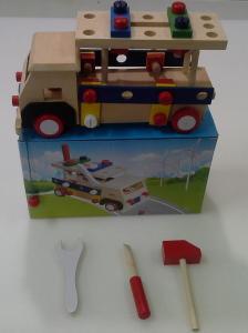 Фото  С 407 Деревянная машина-грузовик