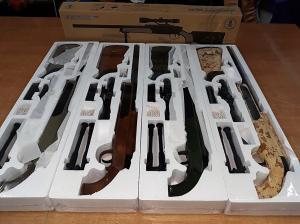 Фото Игрушечное Оружие, Стреляет пластиковыми 6мм  пульками, Металлическое и комбинированное (металл + пластик) оружие Детская страйкбольная  винтовка снайперская  ZM51Т металл+пластик (цевьё и приклад оливковые)