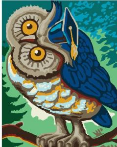 Фото Картины на холсте по номерам, Картины  в пакете (без коробки) 50х40см; 40х40см; 40х30см, Животные, птицы, рыбы GX 26206